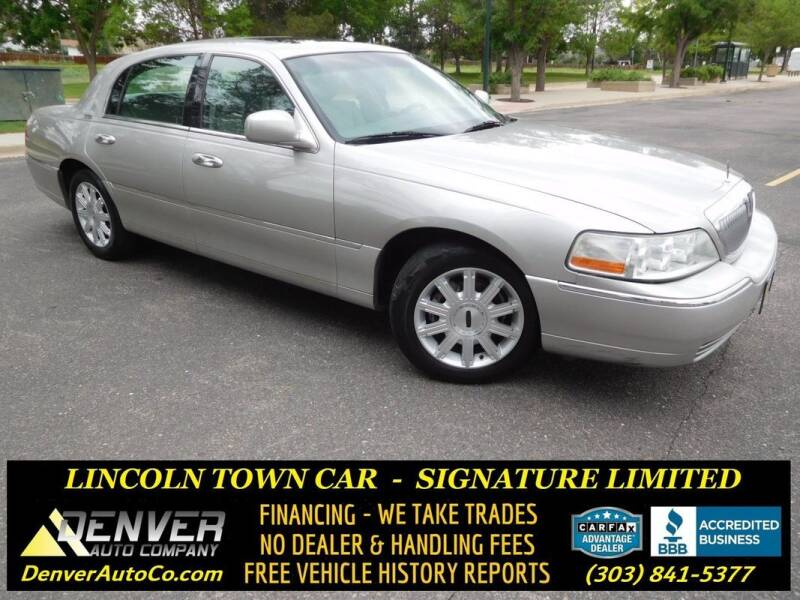 2007 Lincoln Town Car for sale in Parker, CO