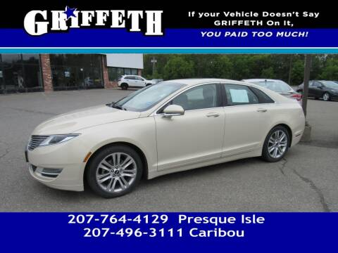 2014 Lincoln MKZ Hybrid for sale at Griffeth Mitsubishi - Pre-owned in Caribou ME
