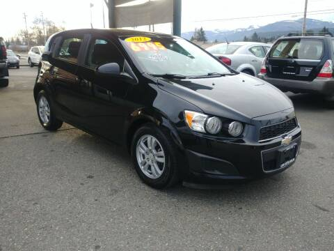 2012 Chevrolet Sonic for sale at Low Auto Sales in Sedro Woolley WA