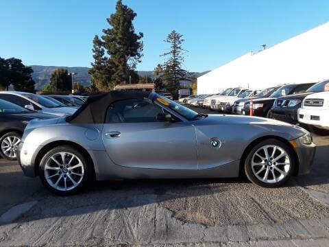 2006 BMW Z4 for sale at Goleta Motors in Goleta CA