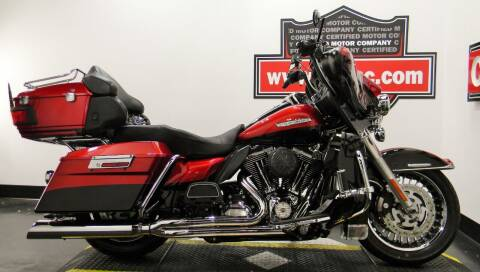 2012 Harley-Davidson ULTRA LIMITED for sale at Certified Motor Company in Las Vegas NV
