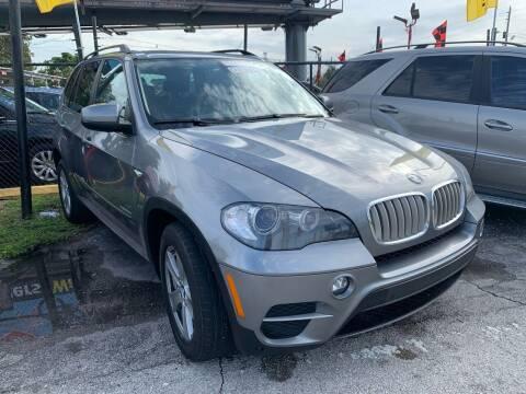 2011 BMW X5 for sale at America Auto Wholesale Inc in Miami FL