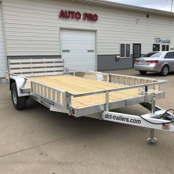 2021 ALUMINUM UTILITY DCT 83X14 HD ATV UTILITY for sale at AUTO PRO in Brookings SD