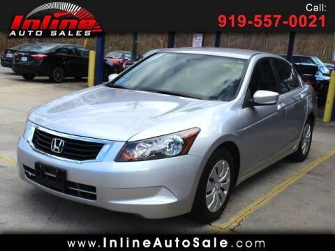 2010 Honda Accord for sale at Inline Auto Sales in Fuquay Varina NC
