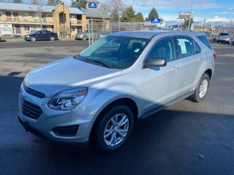 2017 Chevrolet Equinox for sale at TacomaAutoLoans.com in Tacoma WA