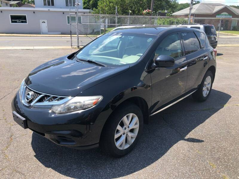 2012 Nissan Murano for sale at New Look Auto Sales Inc in Indian Orchard MA