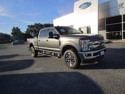2019 Ford F-350 Super Duty for sale at King's Colonial Ford in Brunswick GA