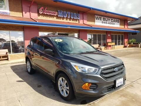 2017 Ford Escape for sale at Ohana Motors in Lihue HI