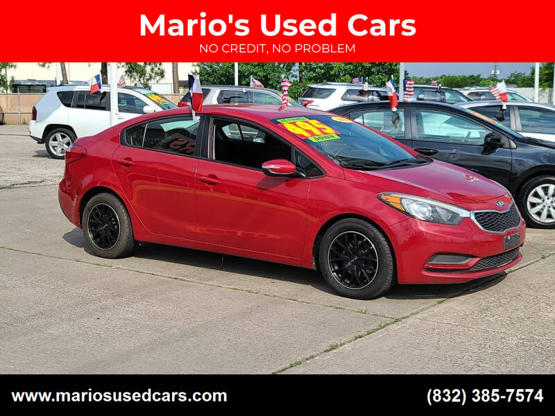 2016 Kia Forte for sale at Mario's Used Cars in Houston TX
