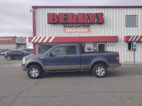 2005 Ford F-150 for sale at Berry's Cherries Auto in Billings MT