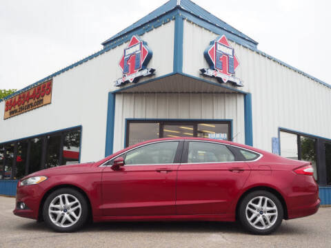 2015 Ford Fusion for sale at DRIVE 1 OF KILLEEN in Killeen TX