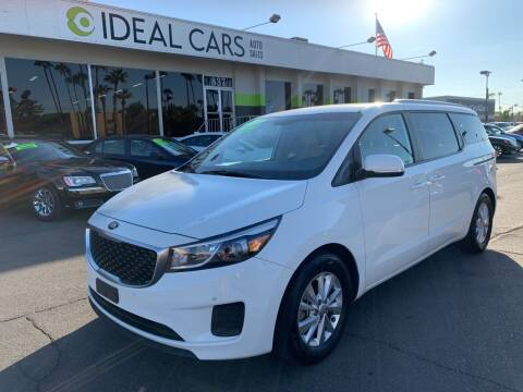 2017 Kia Sedona for sale at Ideal Cars East Main in Mesa AZ