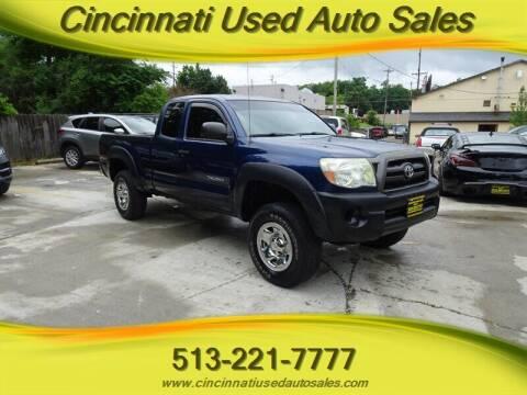 2007 Toyota Tacoma for sale at Cincinnati Used Auto Sales in Cincinnati OH