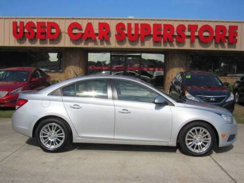 2013 Chevrolet Cruze for sale at Checkered Flag Auto Sales NORTH in Lakeland FL