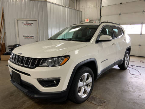 2017 Jeep Compass for sale at Blake Hollenbeck Auto Sales in Greenville MI