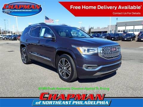 2018 GMC Acadia for sale at CHAPMAN FORD NORTHEAST PHILADELPHIA in Philadelphia PA