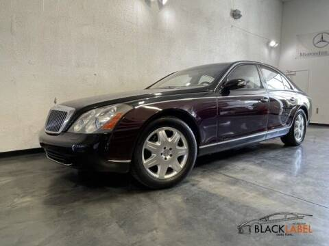 2004 Maybach 57 for sale at BLACK LABEL AUTO FIRM in Riverside CA