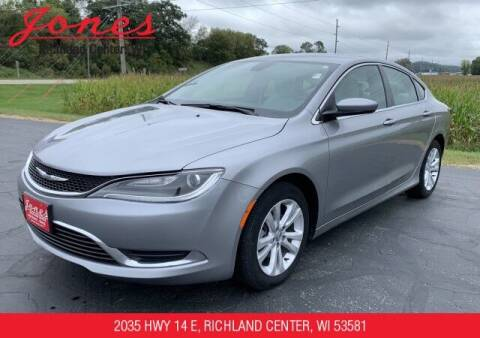 2016 Chrysler 200 for sale at Jones Chevrolet Buick Cadillac in Richland Center WI