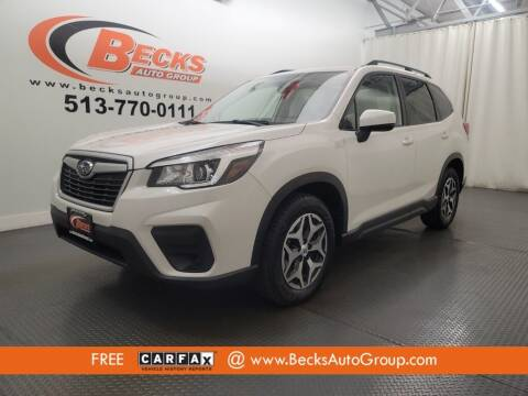 2019 Subaru Forester for sale at Becks Auto Group in Mason OH