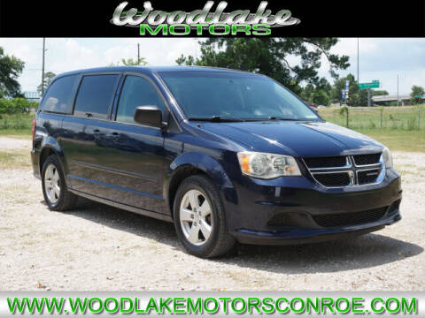 2013 Dodge Grand Caravan for sale at WOODLAKE MOTORS in Conroe TX