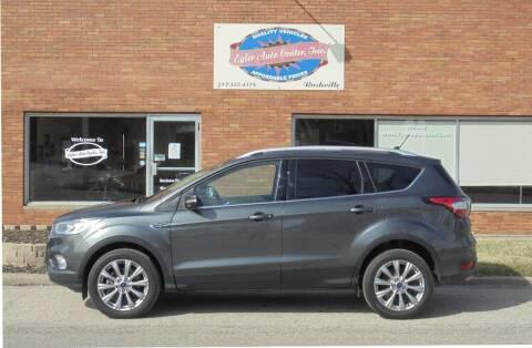 2018 Ford Escape for sale at Eyler Auto Center Inc. in Rushville IL