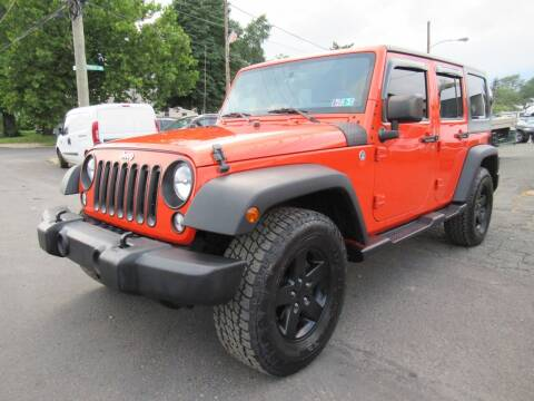 2015 Jeep Wrangler Unlimited for sale at PRESTIGE IMPORT AUTO SALES in Morrisville PA