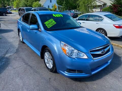 2010 Subaru Legacy for sale at Washington Auto Repair in Washington NJ
