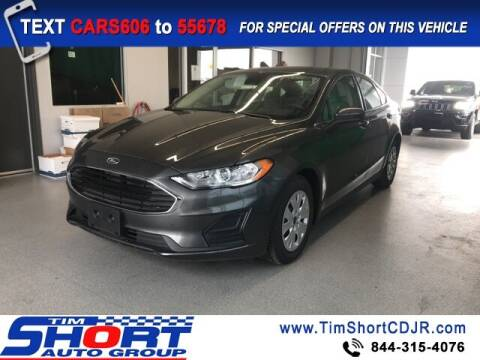 2020 Ford Fusion for sale at Tim Short Chrysler in Morehead KY