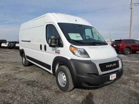 2021 RAM ProMaster Cargo for sale at Vance Fleet Services in Guthrie OK
