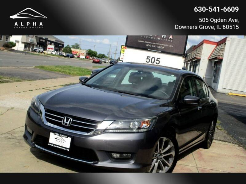 2015 Honda Accord for sale at Alpha Luxury Motors in Downers Grove IL