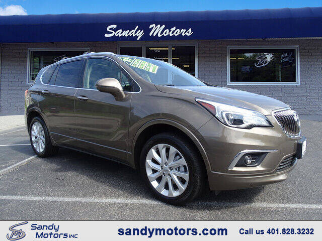 2017 Buick Envision for sale at Sandy Motors Inc in Coventry RI