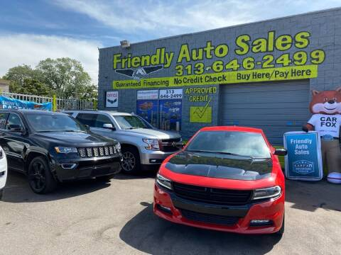 2018 Dodge Charger for sale at Friendly Auto Sales in Detroit MI