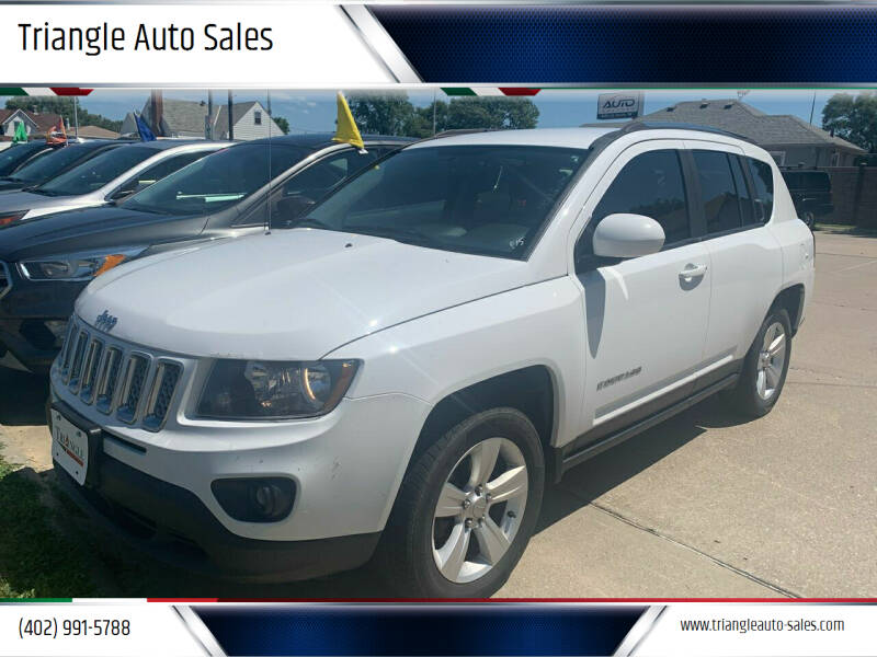 2014 Jeep Compass for sale at Triangle Auto Sales 2 in Omaha NE