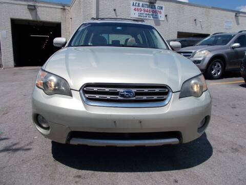 2005 Subaru Outback for sale at ACH AutoHaus in Dallas TX