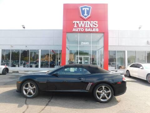 2014 Chevrolet Camaro for sale at Twins Auto Sales Inc Redford 1 in Redford MI