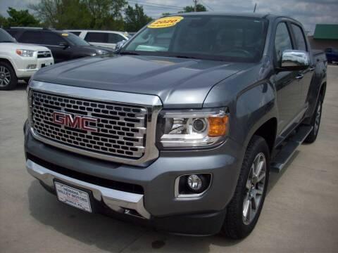 2020 GMC Canyon for sale at Nemaha Valley Motors in Seneca KS