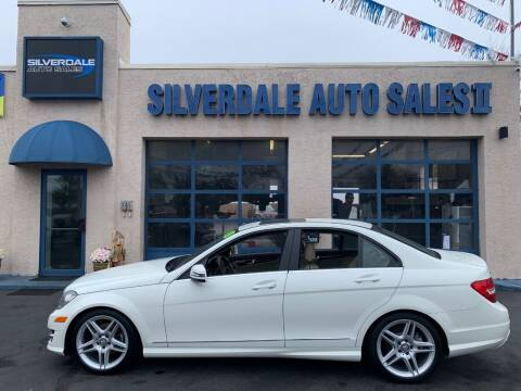 2012 Mercedes-Benz C-Class for sale at Silverdale Auto Sales II in Sellersville PA