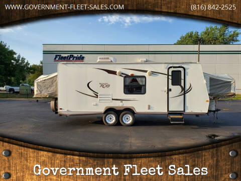 2009 Forest River Rockwood Roo for sale at Government Fleet Sales in Kansas City MO