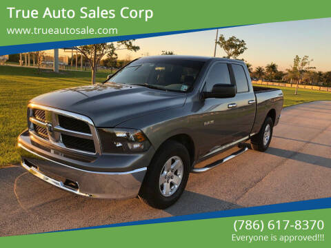 2010 Dodge Ram Pickup 1500 for sale at True Auto Sales Corp in Miami FL