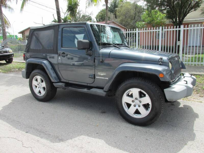 2007 Jeep Wrangler for sale at TROPICAL MOTOR CARS INC in Miami FL