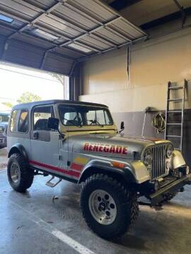 1983 Jeep CJ-7 for sale at Classic Car Deals in Cadillac MI