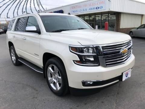 2015 Chevrolet Tahoe for sale at I-80 Auto Sales in Hazel Crest IL