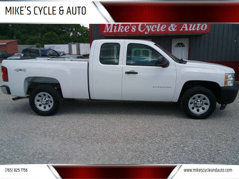 2012 Chevrolet Silverado 1500 for sale at MIKE'S CYCLE & AUTO in Connersville IN