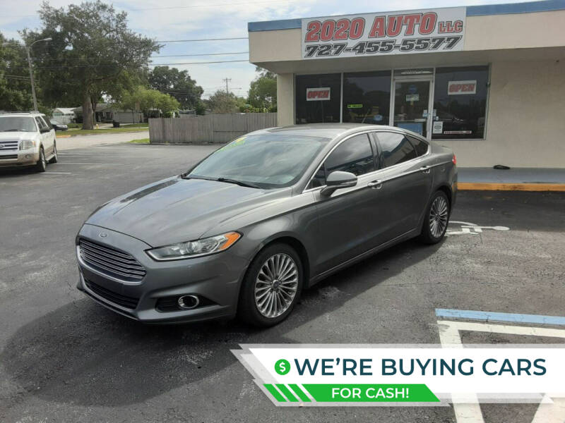 2014 Ford Fusion for sale at 2020 AUTO LLC in Clearwater FL