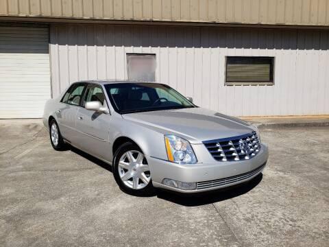 2007 Cadillac DTS for sale at M & A Motors LLC in Marietta GA