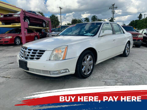 2007 Cadillac DTS for sale at Mid City Motors Auto Sales - Mid City North in N Fort Myers FL
