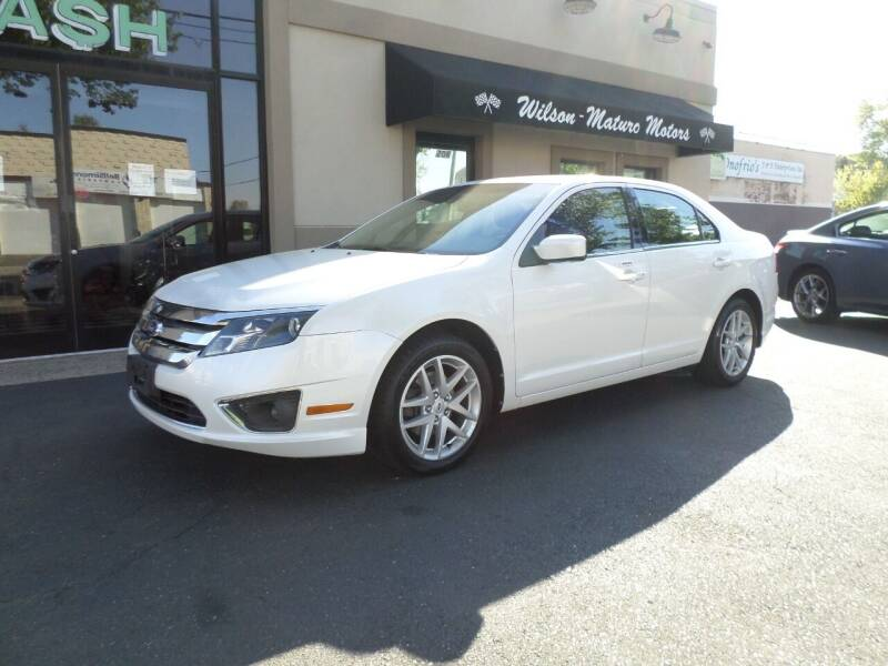 2012 Ford Fusion for sale at Wilson-Maturo Motors in New Haven Ct CT