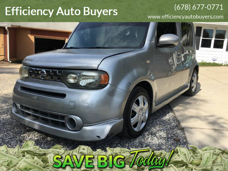 2009 Nissan cube for sale at Efficiency Auto Buyers in Milton GA