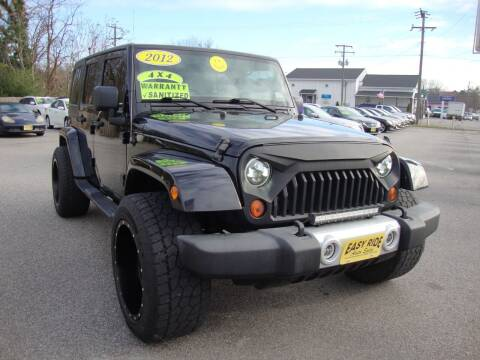 2012 Jeep Wrangler Unlimited for sale at Easy Ride Auto Sales Inc in Chester VA
