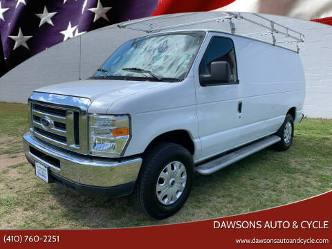 2013 Ford E-Series Cargo for sale at Dawsons Auto & Cycle in Glen Burnie MD